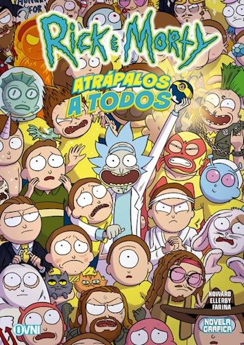 Papel Rick Y Morty Vol.3