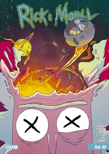 Papel Rick & Morty Vol. 3