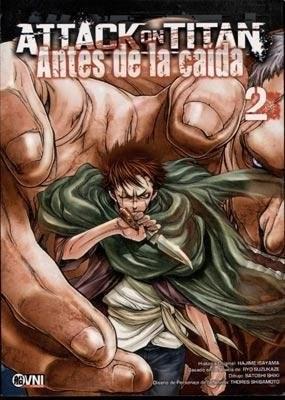 Papel Attack On Titan, Antes De La Caida Vol.2
