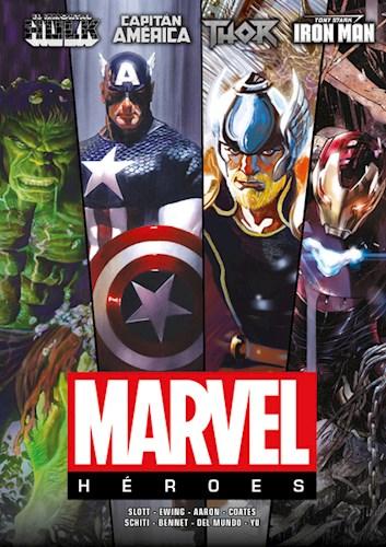 Papel Marvel Heroes Vol.1 -Hulk-Capitan America-Thor-Iron Man