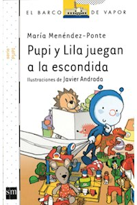 Papel Pupi Y Lila Juegan A La Escondida - Serie Blanca