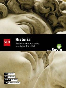 Libro Historia  America Y Europa Entre Los Siglos Xiv Y Xviii
