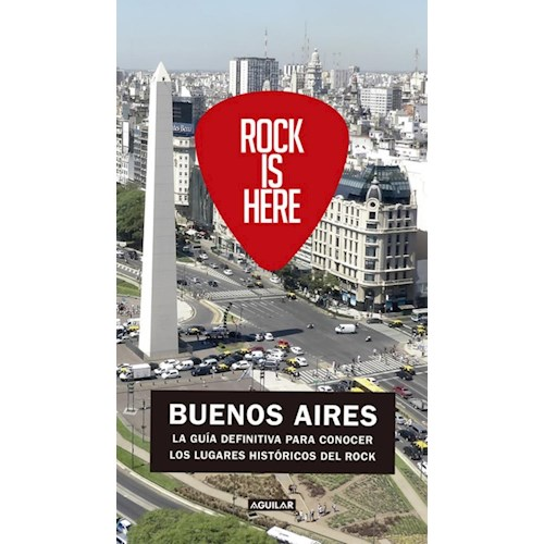 Papel ROCK IS HERE, BUENOS AIRES