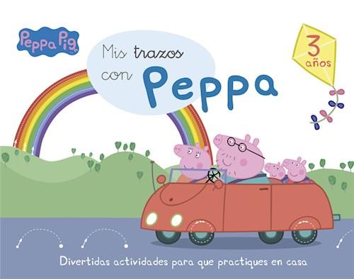 Papel PEPPA PIG MIS TRAZOS CON PEPPA (3 AÑOS) (RUSTICO)