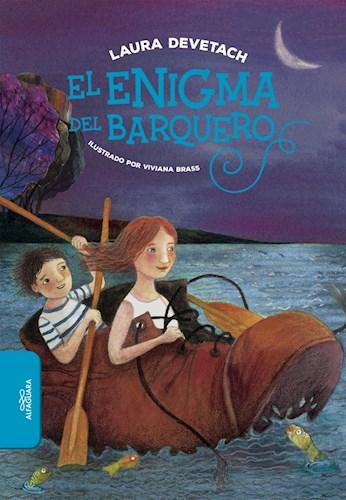 Papel ENIGMA DEL BARQUERO (+9 AÑOS) (ILUSTRADO) (BOLSILLO)