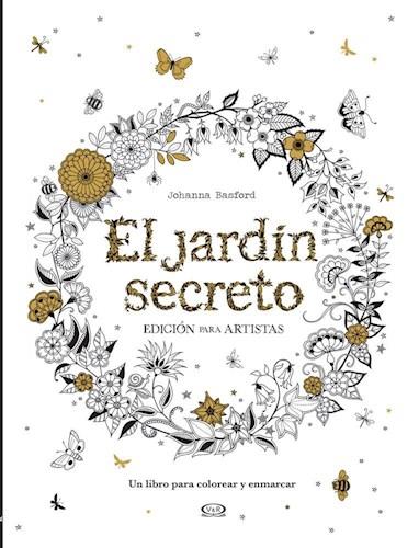El Jardin Secreto Edicion Para Artistas Por Basford Johanna