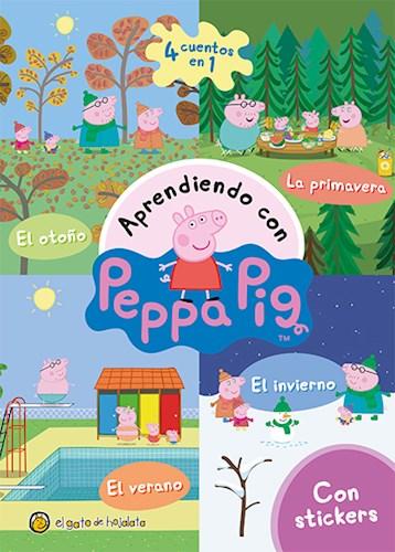 Libro Aprendiendo Con Peppa Pig