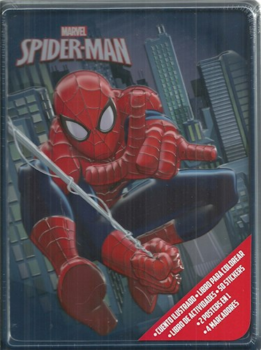 Papel Spiderman Lata