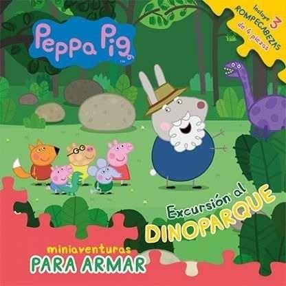 Libro Peppa Pig : Excursion Al Dinoparque