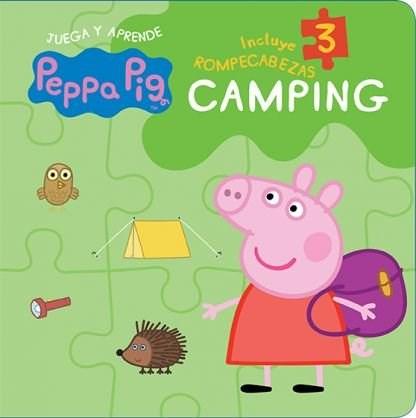 Papel Camping Peppa Pig