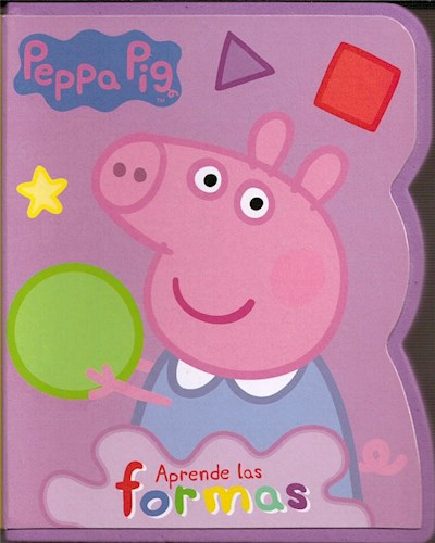 Libro Peppa Pig : Aprende Las Formas