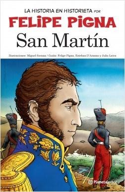 Papel SAN MARTIN (COLECCION LA HISTORIA EN HISTORIETA)