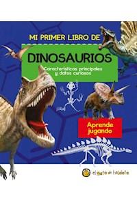 Papel Mi Primer Libro De Dinosaurios