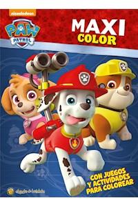 Papel Paw Patrol Maxi Color