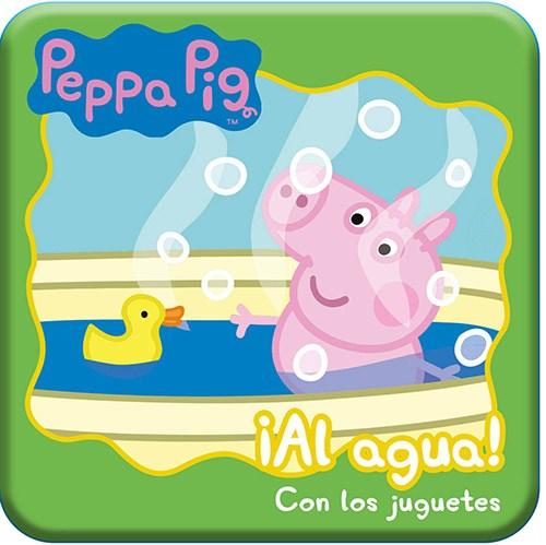 Libro Peppa Pig Al Agua ! : Con Los Juguetes