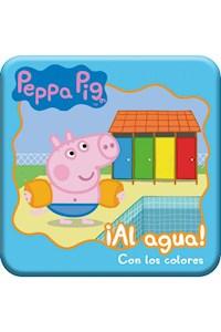 Papel Peppra Pig - Al Agua - Con Los Colores