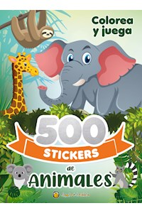 Papel 500 Stickers De Animales