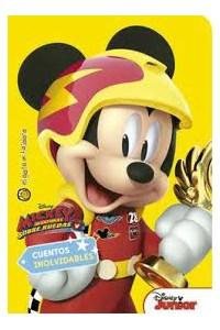 Papel Mickey Aventuras Sobre Ruedas - Col. Cuentos Inolvidables