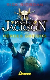 Libro Percy Jackson Y Los Heroes Griegos