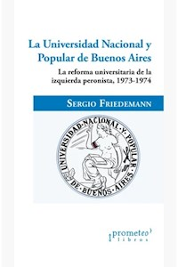 Papel La Universidad Nacional Y Popular De Buenos Aires