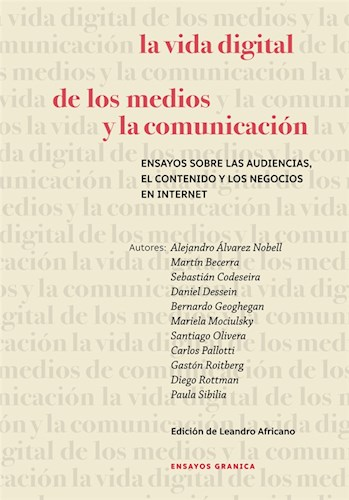 Libro La Vida Digital De Los Medios Y La Comunicacion