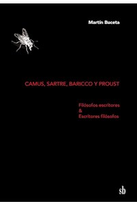 Papel Camus, Sartre, Baricco Y Proust