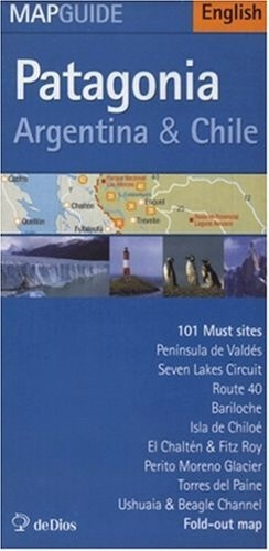 Papel Patagonia Argentina & Chile Map Guide