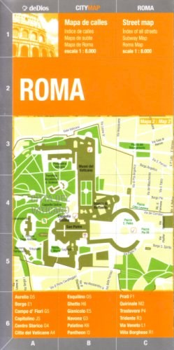 Papel Roma City Map
