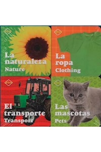 Papel Mini Libros - Books Bilingües - Contiene 4 Minilibros Tapa Dura