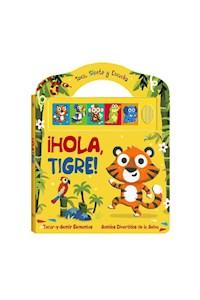 Papel Hola Tigre (Sonido Toca, Siente Y Escuch