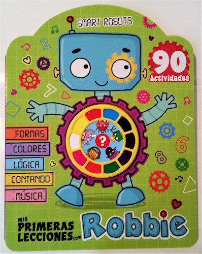 Libro Mis Primeras Lecciones Con Robbie