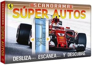 Papel Scanorama - Súper Autos