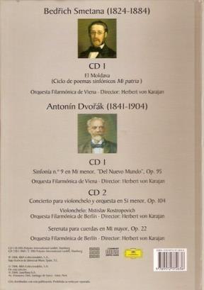 Papel Smetana - Dvorak