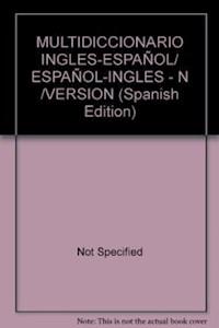 Papel Multidiccionario Ingles/Español/Inglés N/Version
