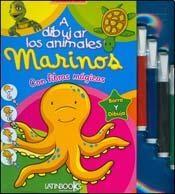 Papel A Dibujar Animales Marinos