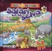 Papel Puzzle Aventuras - Safari En La Selva