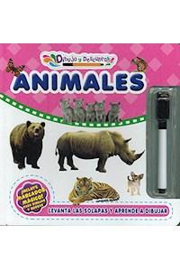 Papel Dibujo Y Descubro Animales