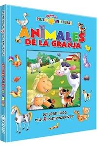 Papel Puzzle Super Aventuras -Animales De La Granja
