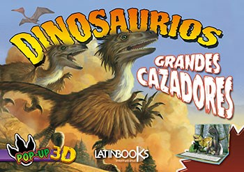 Papel Dinosaurios Pop Up Grandes Cazadores
