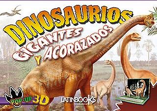 Papel Dinosaurios Pop Up - Gigantes Y Acorazados