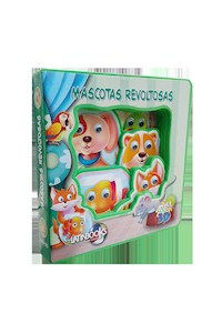Papel Ojos Locos 3D - Mascotas Revoltosas