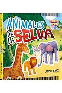 Papel Animales De La Selva