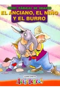 Papel El Anciano, El Niño, Y El Burro (Acticuentos)