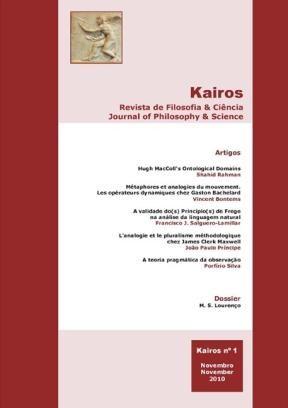 E-book Kairos. Revista De Filosofia & Ciência, Volume 1