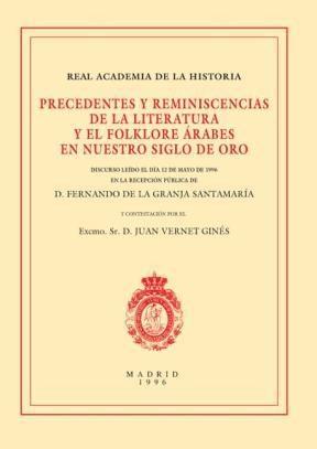 E-book Precedentes Y Reminiscencias De La Literatura Y El Floklore Árabes En Nuestro Siglo De Oro