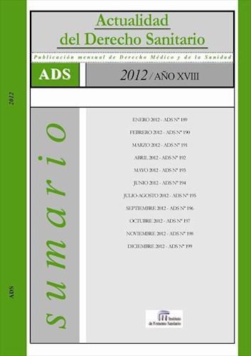 E-book Actualidad Del Derecho Sanitario 2012 (Ads)