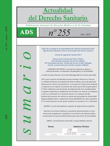 E-book Actualidad Del Derecho Sanitario Enero - Dic. 2018