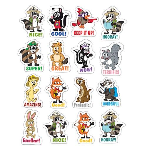 Papel Ranger Rick Stickers