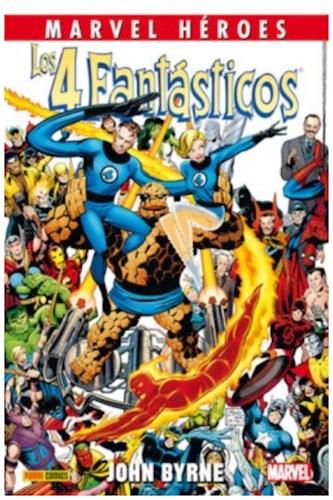Los 4 Fantásticos De John Byrne (Completo 4 Tomos - Col  Marvel Héroes)