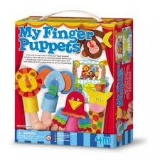 Papel My Finger Puppets Set